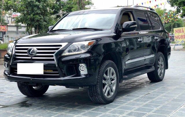 Bán xe Lexus LX 570 đã qua sử dụng SX 2014, màu đen, LH Ms Hương 09453924682