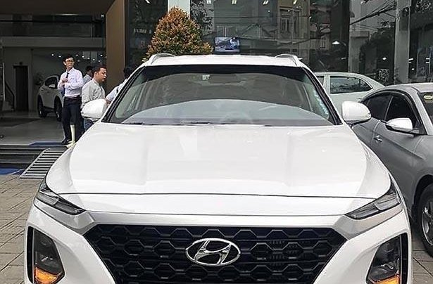 Bán Hyundai Santa Fe thế hệ mới, hộp số tự động 8 cấp0