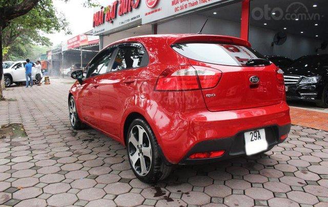 Cần bán xe Kia AT SX 2012, màu đỏ, nhập khẩu nguyên chiếc4