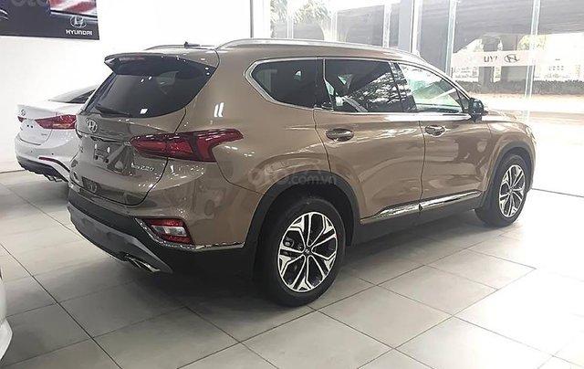 Bán Hyundai Santa Fe Premium 2.2L HTRAC sản xuất 2019, màu vàng0