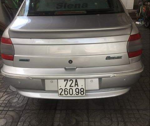 Bán Fiat Siena năm sản xuất 2003, màu bạc0