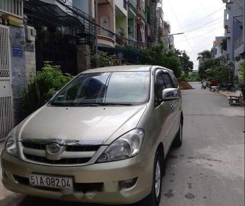Bán xe Toyota Innova G 2007, màu vàng cát, không chạy dịch vụ, taxi4
