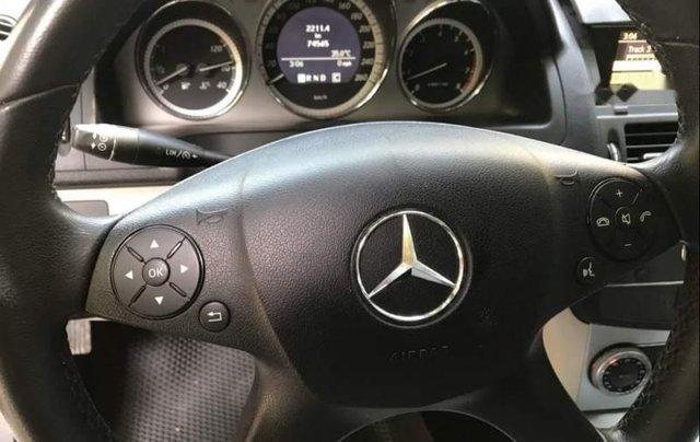 Bán Mercedes C300 sản xuất năm 2010, màu xám4