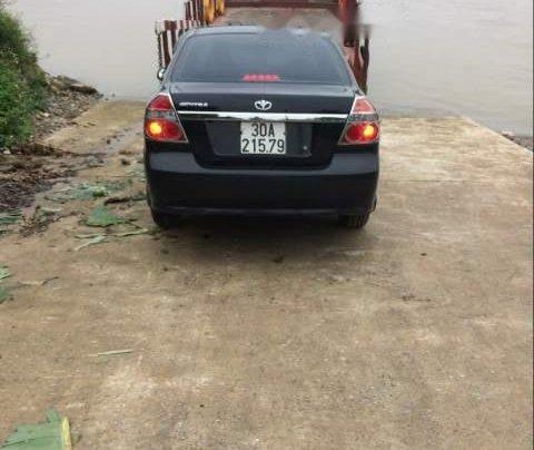 Cần bán xe Daewoo Gentra năm sản xuất 2009, màu đen, xe nhập1