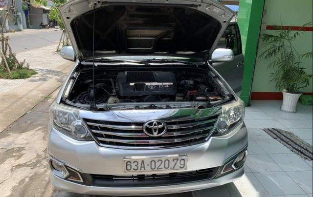 Bán Toyota Fortuner đời 2013, màu bạc5