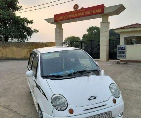 Bán ô tô Daewoo Matiz đời 2004, màu trắng4