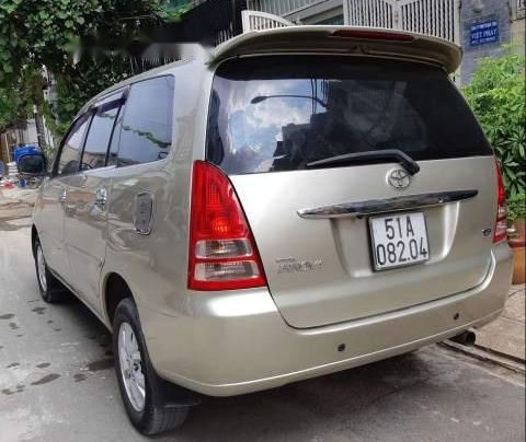 Bán xe Toyota Innova G 2007, màu vàng cát, không chạy dịch vụ, taxi3