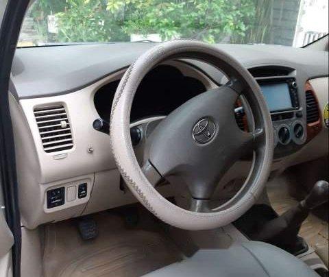 Bán xe Toyota Innova G 2007, màu vàng cát, không chạy dịch vụ, taxi1