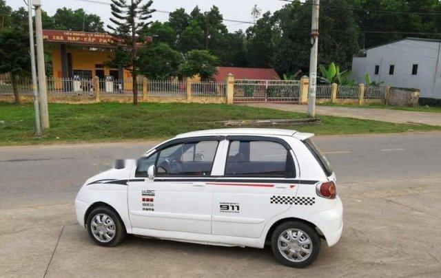Bán ô tô Daewoo Matiz đời 2004, màu trắng0