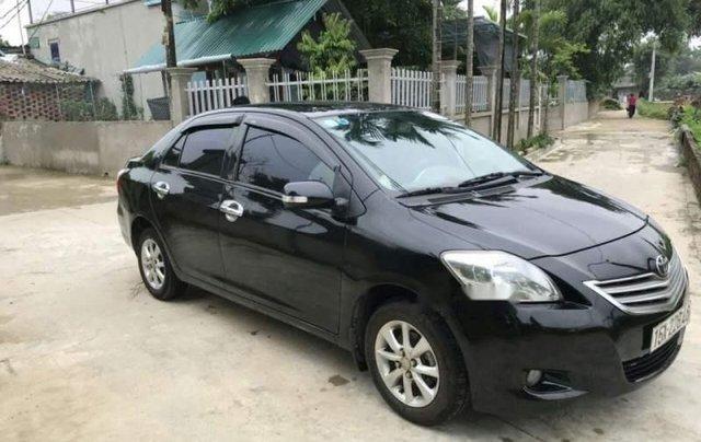 Bán Toyota Vios đời 2009, màu đen, giá chỉ 225 triệu0