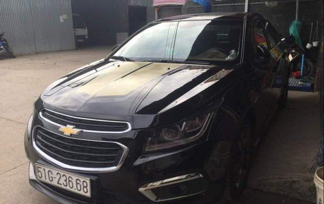 Bán gấp Chevrolet Cruze LTZ đời 2017, màu đen chính chủ1