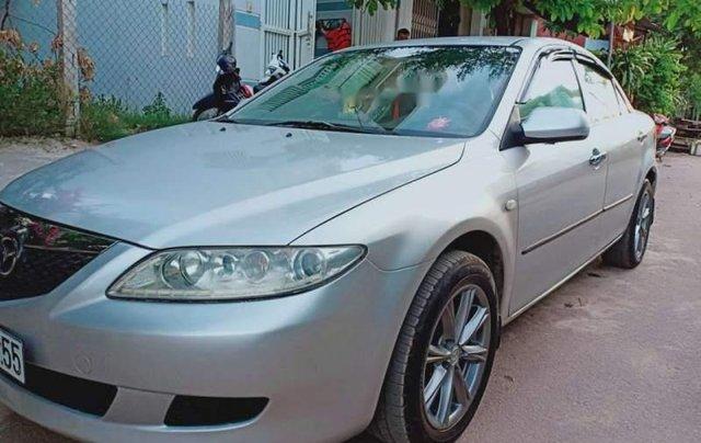 Bán xe Mazda 6 2004, màu bạc, xe nhập, giá chỉ 240 triệu0