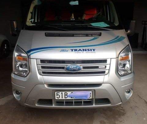 Cần bán gấp Ford Transit đời 2017, màu bạc0