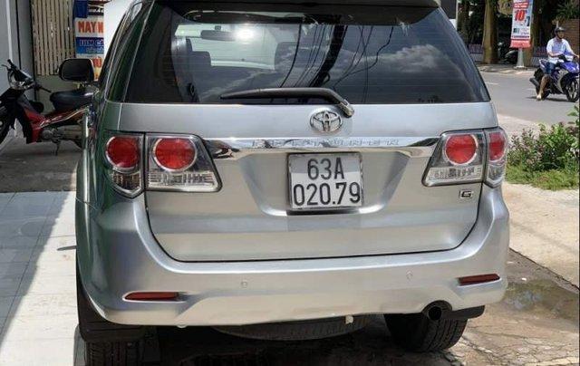 Bán Toyota Fortuner đời 2013, màu bạc2