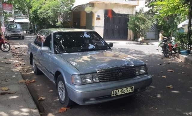 Bán Toyota Crown đời 1991, màu bạc, xe nhập5