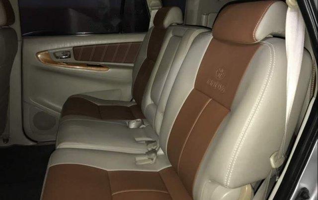 Bán gấp Toyota Innova G sản xuất năm 2010, màu bạc còn mới5