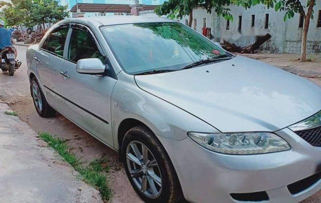 Cần bán gấp Mazda 6 năm sản xuất 2004, màu bạc, nhập khẩu4