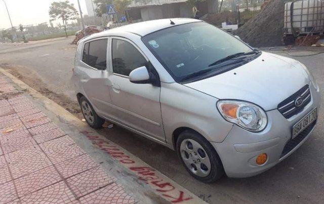 Cần bán xe Kia Morning đời 2009, màu bạc, nhập khẩu, giá 159tr0