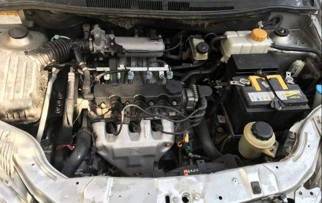 Bán ô tô Chevrolet Aveo năm sản xuất 2015, màu bạc1