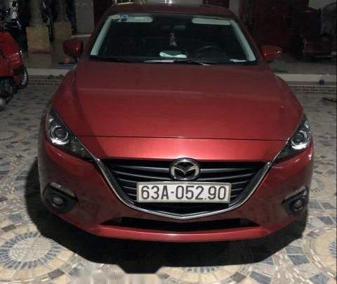 Bán Mazda 3 đời 2016, màu đỏ, nhập khẩu nguyên chiếc chính chủ0