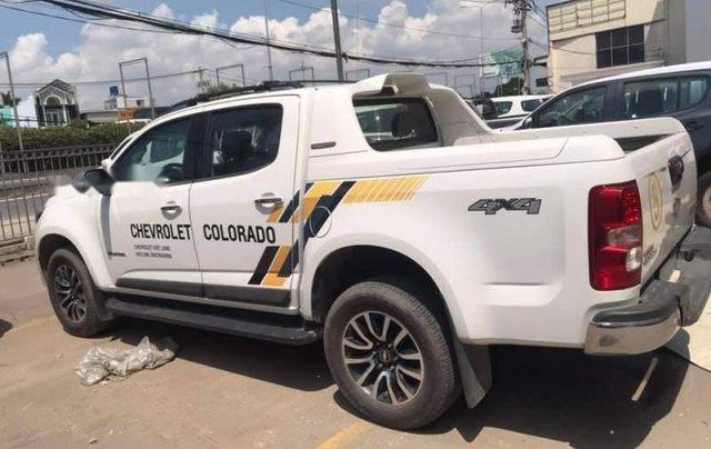 Bán Chevrolet Colorado đời 2018, màu trắng, xe nhập0