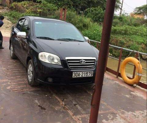 Cần bán xe Daewoo Gentra năm sản xuất 2009, màu đen, xe nhập0