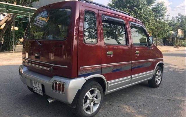 Bán Suzuki Wagon R+ 1.0 MT đời 2002, màu đỏ1