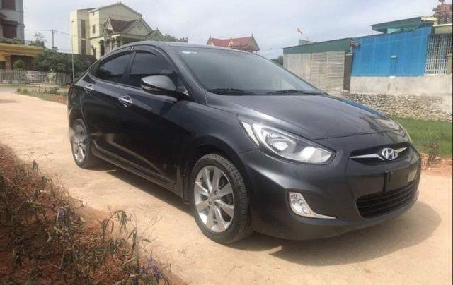 Bán xe Hyundai Accent 1.4AT năm 2011, màu xám, xe nhập số tự động2