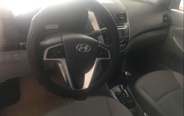 Bán xe Hyundai Accent 1.4AT năm 2011, màu xám, xe nhập số tự động3