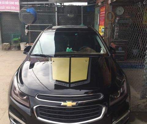 Bán gấp Chevrolet Cruze LTZ đời 2017, màu đen chính chủ0