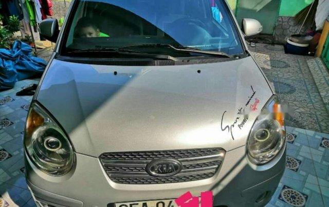 Bán Kia Morning đời 2008, màu bạc, nhập khẩu nguyên chiếc, giá 165tr0