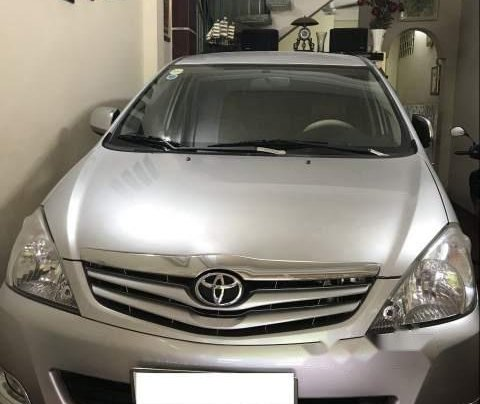 Bán gấp Toyota Innova G sản xuất năm 2010, màu bạc còn mới0