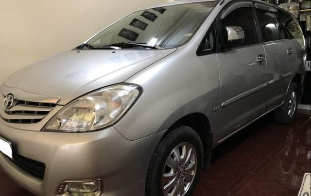 Bán gấp Toyota Innova G sản xuất năm 2010, màu bạc còn mới1