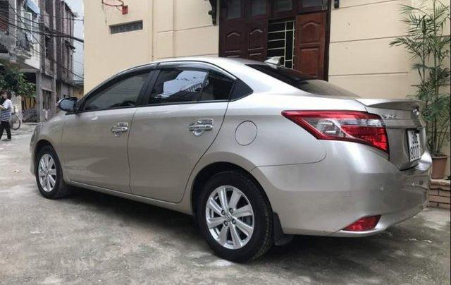 Bán lại xe Toyota Vios 1.5E MT sản xuất 2017, màu bạc số sàn0