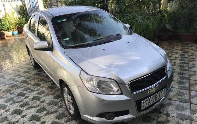 Bán ô tô Chevrolet Aveo năm sản xuất 2015, màu bạc2
