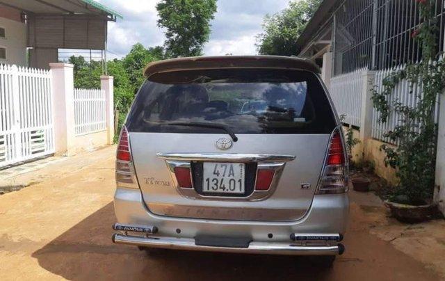 Bán Toyota Innova năm 2007, màu bạc, nhập khẩu1