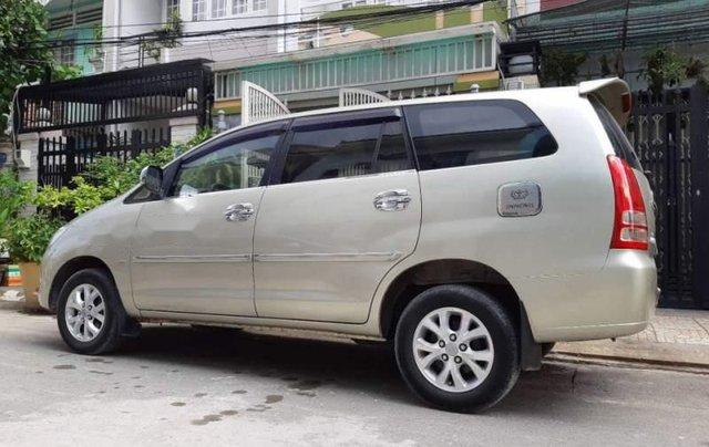 Bán xe Toyota Innova G 2007, màu vàng cát, không chạy dịch vụ, taxi5