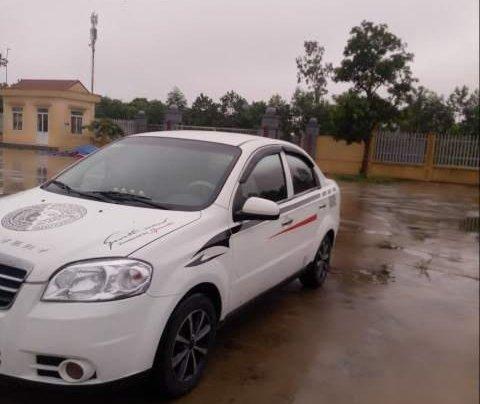 Cần bán Daewoo Gentra 2007, màu trắng xe gia đình4