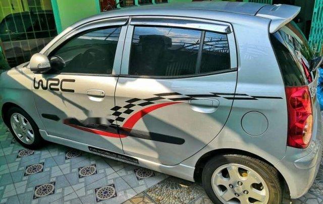 Bán Kia Morning đời 2008, màu bạc, nhập khẩu nguyên chiếc, giá 165tr3