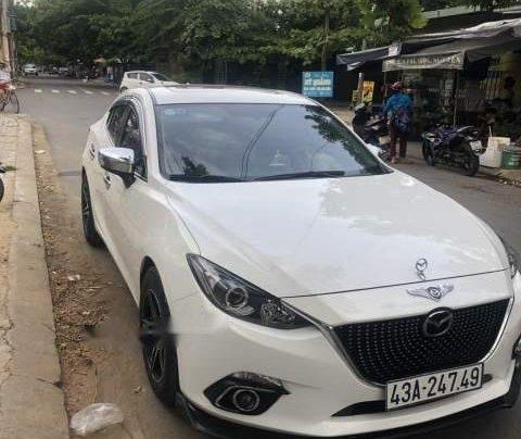 Bán xe Mazda 3 2016, màu trắng số tự động, giá chỉ 570 triệu0