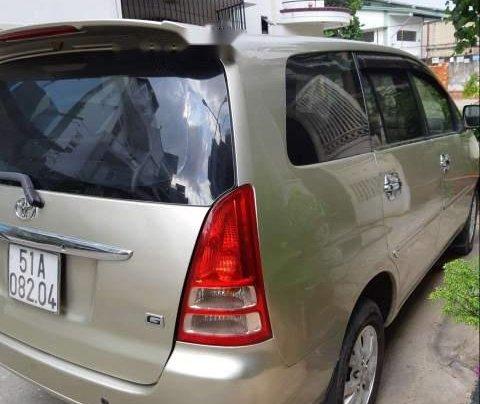Bán xe Toyota Innova G 2007, màu vàng cát, không chạy dịch vụ, taxi2