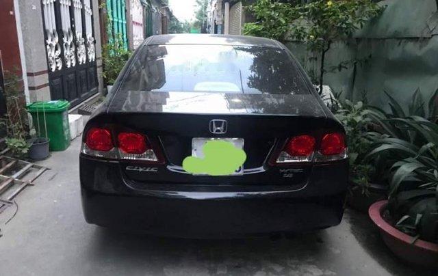 Bán Honda Civic đời 2009, màu đen chính chủ, giá 287tr1