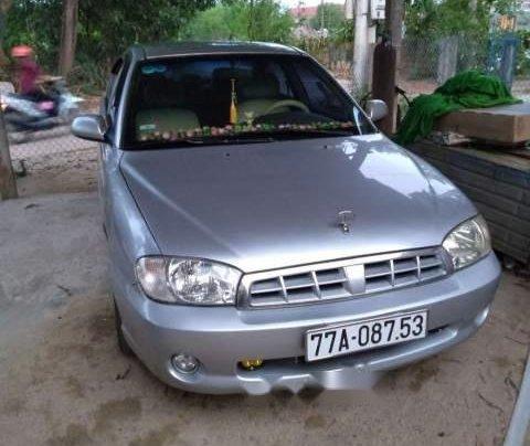 Bán xe Kia Spectra đời 2005, màu bạc, nhập khẩu1