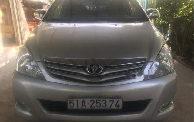 Bán Toyota Innova G năm 2011, màu bạc chính chủ2