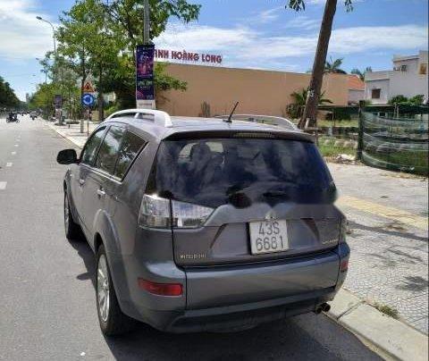 Bán lại xe Mitsubishi Outlander đời 2007, màu xám, xe nhập, 420tr0