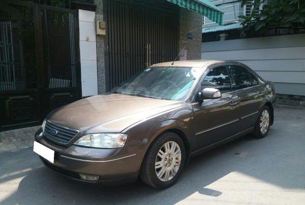 Gia đình cần bán Ford Mondeo 2005 AT full option, màu xám4