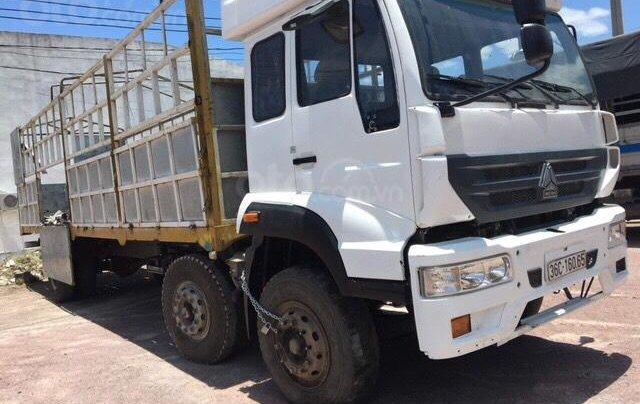 Bán tải CNHTC 8700kg sx 2014 màu trắng, đăng ký năm 20162