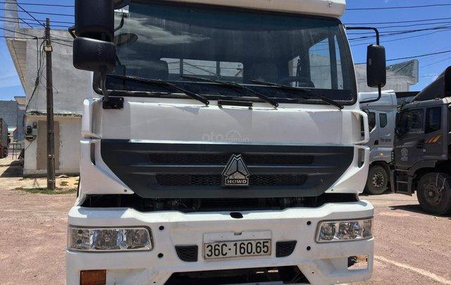 Bán tải CNHTC 8700kg sx 2014 màu trắng, đăng ký năm 20163