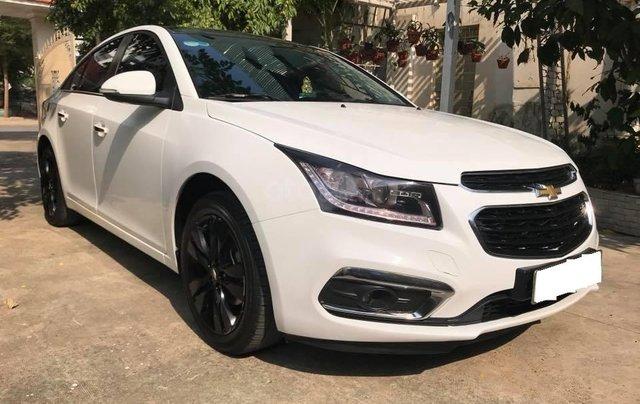 Cần bán xe Chevrolet Cruze 1.8LTZ đk 05/2017 màu trắng3