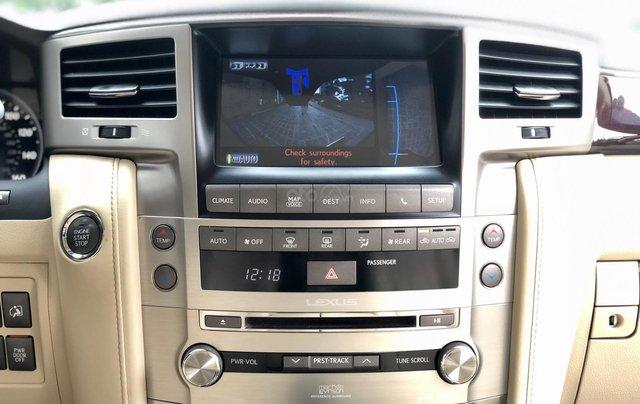 Cần bán Lexus LX 570 nhập khẩu Mỹ, màu đen, sản xuất năm 2014, đăng ký năm 2015, xe cực đẹp LH: 0982.84.28388